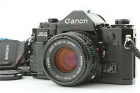 [Exc+5] Canon A-1 35mm SLR Film Camera w/ New FD NFD 50mm F/1.8 Lens from JAPAN