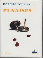 BOUVIER Isabelle /  PUNAISES. Editions Amers 2002.