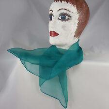 zartes Chiffon Nicki-Tuch reine Seide, Farbe uwf  hand gefärbt uni einfarbig