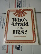Who's Afraid of the IRS by Lynn Johnston (1983, Paperback, Illustrated)