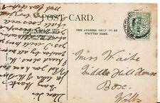 Family History Postcard - Waite - Box - Wiltshire - Ref 1700A