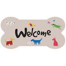 Dog Lovers Welcome Dog Bone Sign