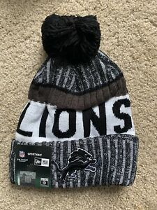 Detroit Lions Beanie New Nfl Football