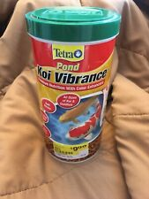 Tetra Koi/ Goldfish Vibrance Color Enhancing Fish Food Expired Still Good!