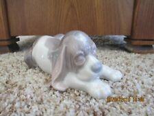 Lladro Retired Precelain Beagle Pupply #1072
