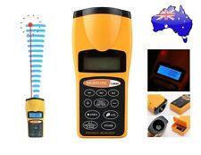 Ultrasonic Distance Tape Measurer Laser Pointer Meter Measure to 60ft Metre AUS