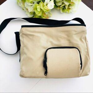 Medela breast double pump in style tan bag model 8P61