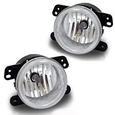 Chrysler 300 05-10 3.5L Euro Clear Front Bumper Fog Lights Lamps Pair RH LH