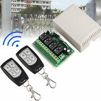 Interruttore relè telecomando RF wireless a 4 canali 443MHz 12V