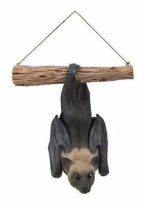 Vivid Arts Hanging Fruit Bat  Highly Detailed Home or Garden Decoration