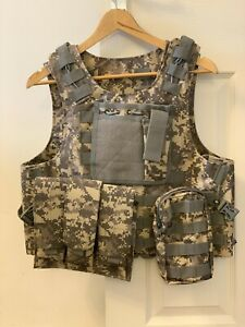 Adjustable Tactical Vest Airsoft Paintball