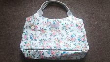 Large white floral original Cath Kidston tote bag