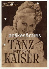 Filmprogramm: Tanz mit dem Kaiser, Illustr. Film-Kurier