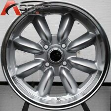 1 ROTA RB 15X7 4X108 ET30 73.1 ROYAL SILVER RIMS WHEELS