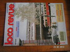 / Loco Revue n°544 Vapeur en Alsace Affiche La Neige Saint Jean Le Centenier
