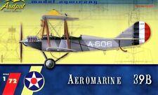 Aeromarine 39 b roues version (u.s. navy marquage) 1/72 ardpol résine