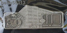 """LIMITED EDITION"" HARLEY DAVIDSON 30th & 110th ANNIVERSARY JUNEAU AVE PEWTER PIN"
