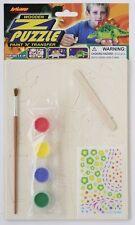 1x 3D In legno Puzzle Dinosauro Kit Artigiano - Costruzione e Pittura - 21cm