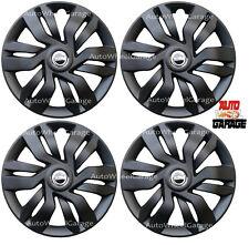 Hotwheelz Matte Black Wheel Cover 15inch For Maruti Suzuki Baleno-4pc