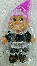 """Troll Dressed French Maid 5"""" #18544 Toy Doll Purple Hair Russ Play Collectible"""