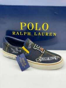 POLO RALPH LAUREN THOMPSON III SLIP-ON LOAFER SHOES (SIZE 12)