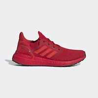 ADIDAS ULTRABOOST 20 - TRIPLE RED - EG0700 - UK 8, 9, 9.5