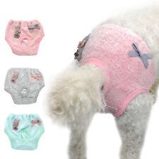Dog Pants Pet Sanitary Pants Nappy Diaper Physiological Dog Shorts Female S M L