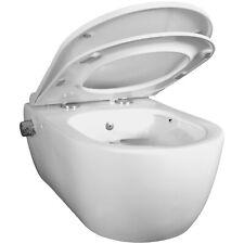 WC Harmony N3 spülrandlos 2in1 WC und Bidet kombiniert Sitz Edelstahldüse 61