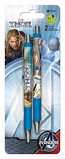 Set of 2 Thor the The Dark World Gel Pens - 0.7 Black Retractable