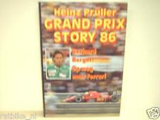 GRAND PRIX STORY 86 Heinz Prüller, F1, FORMULA ONE GERHARD BERGER