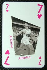 1 x playing card London 2012 Olympic Legends Al Oerter Athletics 7H