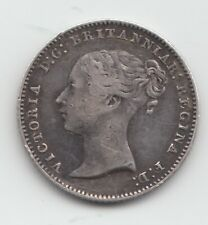 More details for rare 1845 groat fourpence 4d - great britain victoria