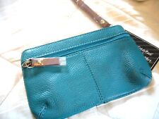 LADIES WOMEN'S TEENAGE GIRLS LEATHER CELL PHONE PURSE / WALLET BAG~ ( 8 X 5 )