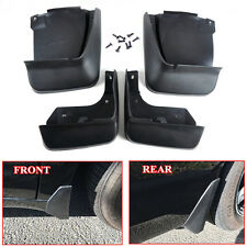 4x Black High Quality Car Splash Guards Mud Flaps Mudguard Kit For Honda Accord(Fits: Honda Element)