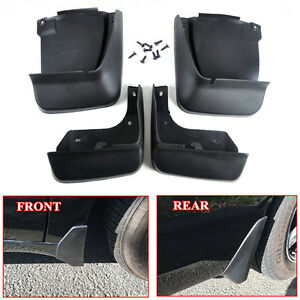 4x Black High Quality Car Splash Guards Mud Flaps Mudguard Kit For Honda Accord