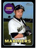 2018 Topps Heritage High Number Chrome Black #THC-716 Ichiro 24/69 Mariners