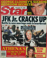 Star Magazine Dec 31 1996 JFK Jr Cracks Up - George Clooney - Celine Dion