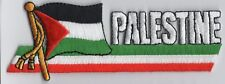 Palestine Flag Patch Embroidered Iron On Applique