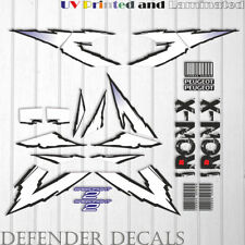 Peugeot Speedfight 2 IRON-X Decals Stickers Graphics SET Scooter Reproduction