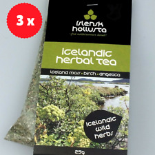 Icelandic Herbal Tea 75 grams with antioxidant effects - Moss - Birch - Angelica