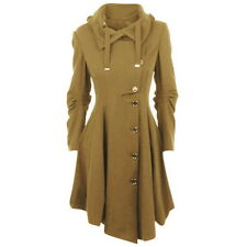 Warmes Mantel Jacke Herz Damen P076 Camel Winter Steppjacke