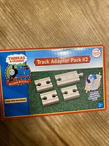 TRACK ADAPTER PACK #2 ROAD & TRACK Thomas Tank Engine Wooden train RETIRED 2006