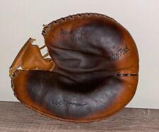 Vintage Rare Macgregor G181 Cal Neeman Catchers Baseball Glove