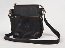Vintage Gianni Versace Nylon Leder Handtasche Black Schwarz Medusa Made in Italy