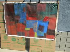 Serge Poliakoff Authentic Painting (Very Large) REVISED