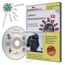 Dänisch lernen für Kinder - Kindersprachkurs auf CD