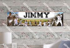 Personalized/Customized Detroit Tigers #2 Name Poster Wall Art Decoration Banner