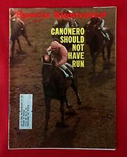 VINTAGE SPORTS ILLUSTRATED JUNE 14 1971 CANONERO BUDWEISER VOLKSWAGON