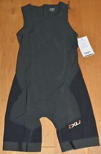 2XU Short Course Trisuit Einteiler Damen WT2696d NEU Gr XL, Schwarz,