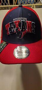 Houston Texans NFL New Era Established 2002 39thirty stretch-fit hat M/L